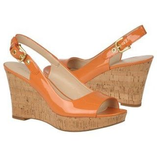 Franco Sarto Womens Colley Pumpkin Patent