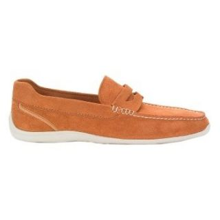 Rockport Mens Drivesports Lite Penny Orange