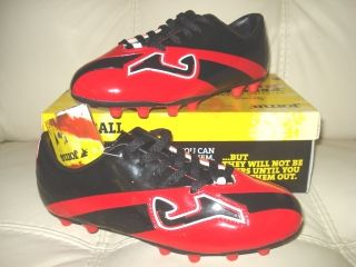 Joma Soccer Futbol Football Cleats Red Spikes Men Youth Sizes