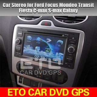 ETO Multimedia 4 Ford Focus Mendeo C Max Fiesta Galaxy Car SAT Nav DVD