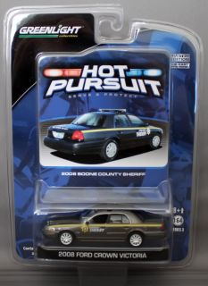 Pursuit Series 3 2008 Ford Crown Victoria Boone County Sheriff