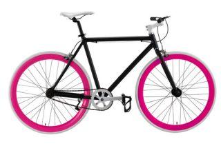 Fixie Fixed Gear Flip Flop Hub Alloy Bike Bicycle 50cm Matt Black w