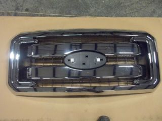 Ford Superduty F250 F350 F450 F550 New Chrome Grill 2011 2012 2013