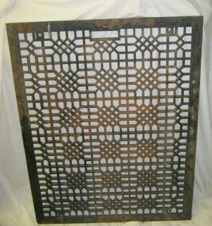 Antique Floor Register Heat Grate Vent Decorative 34x 26 #811 12