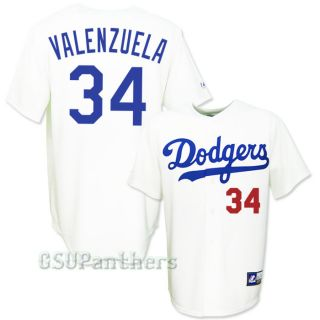 Fernando Valenzuela Los Angeles Dodgers COOPERSTOWN Home Jersey Mens