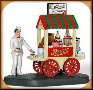 Ferraras Bakery Cart NEW Department Dept. 56 Christmas In The City