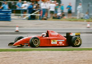 Minichamps 1 18 Ferrari 412T2 Gerhand Berger 1995 F1 Car Ayrton Senna