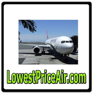 com Online Web Domain for Travel Airline Tickets Flight Plane $