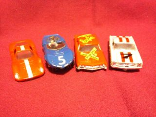 Aurora HO Scale Slot Car Bodies Mustang 2 Ferraris Buick Riviera