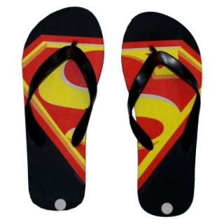 flip flops sandals sku shoem29 superman logo dc comics superhero flip