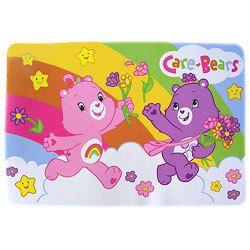 Care Bears Rainbow Kids Plush Mat Accent Floor Area Rug