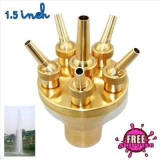 NEW High Quality Fountain Nozzle 2 TIER CENTER STRAIGHT Style 1.5
