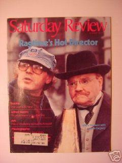Saturday Review December 1981 Milos Forman James Cagney