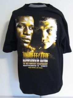 Floyd MAYWEATHER Jr Welterweight Champion vs Hatton 2007 Fight T Shirt