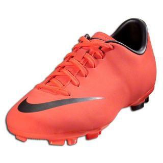 Nike Jr Mercurial Victory III FG Bright Mango Metallic Dark Grey