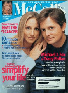 McCalls 1999 Michael J Fox Tracy Pollan Goldie Hawn