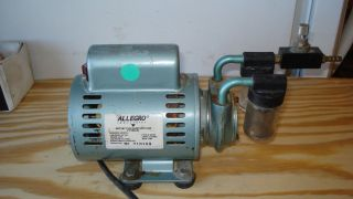 GAST 1 10 HP VACUUM PUMP ARO AIR SPEED CONTROLLER ALLEGRO ROTARY VANE