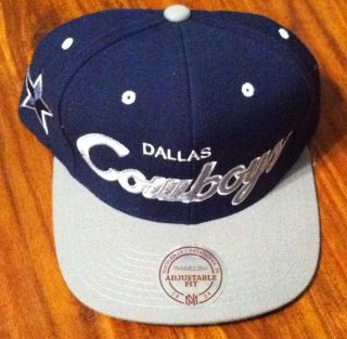 Dallas Cowboys Mitchell and Ness Snapback Hat