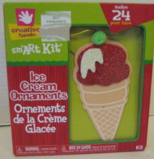 Cone Ornaments Craft Kit Makes 24 Projects Kids Foam Craft