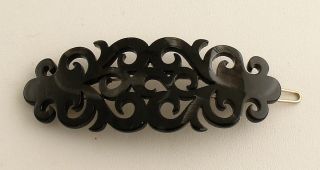 Barrette Hair Clip France Luxe Elysee New w Tag