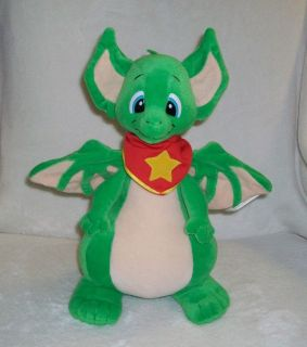 RARE Vtg Real Musgrave Pocket Dragons Plush Filbert
