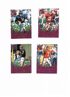 1995 Pacific Triple Folders Rookies & Stars Raspberry Bears Rashaan