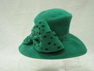 frank olive womens green church hat