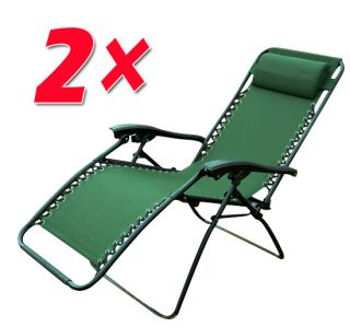 Zero Gravity Chairs Folding Patio Pool Recliner Lounge Chair
