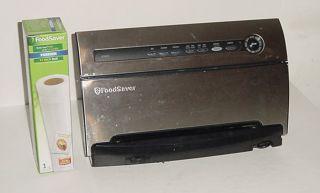 FoodSaver System V3825 Stainless Steel Food Vacuum Sealer