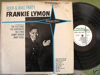 RARE Rock Roll Party Frankie Lymon Guest Star Records