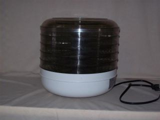 FOOD DEHYDRATOR ~ 5 Tray Electric Food Dehydrator ~ Model No H 8011