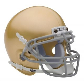 Notre Dame Fighting Irish Schutt Mini Football Helmet
