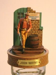 John Wayne Franklin Mint Figurine Sheriff Graham County The Duke