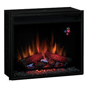 Electric Fireplace Insert 23EF023GRA Heater Spectrafire
