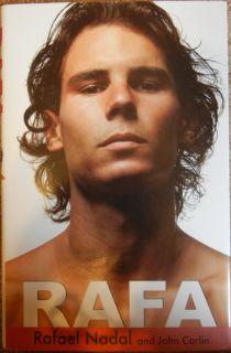 Rafael Nadal Limited Edition Book Signed   RAFA   Tennis Great