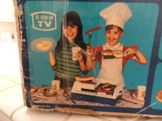 Vtg Suzy Homemaker 1960s Electric Super Grill in Box Really Works