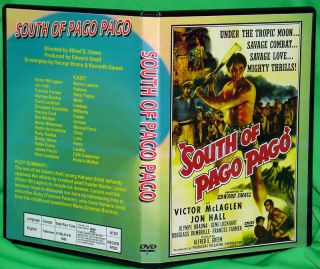 South of Pago Pago DVD Frances Farmer Jon Hall