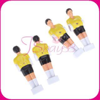 11pcs Foosball Man Table Football Fussball Guys Man Soccer Player