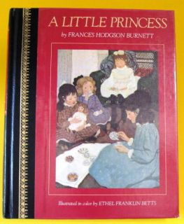 Little Princess Vintage Frances Hodgson Burnett Ethel Franklin Betts