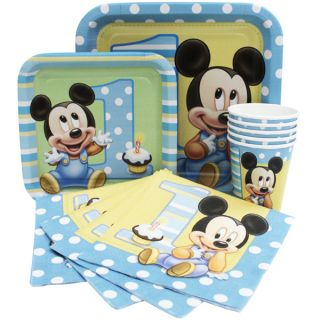 Mickey Mouse 1st First Birthday Party Supplies Create Your Set You