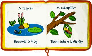 Childrens Zip Up Cloth Activity Book First Things New