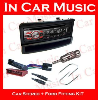 Ford Focus Car Stereo Fitting Kit with Pioneer CD Player MP3 USB Aux