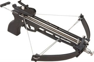 40lb Draw Metal CANNONBOLT Dual Compound Crossbow Black Hunting Small