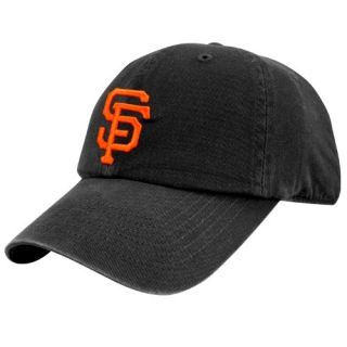 47 Brand San Francisco Giants Black Franchise Fitted Hat
