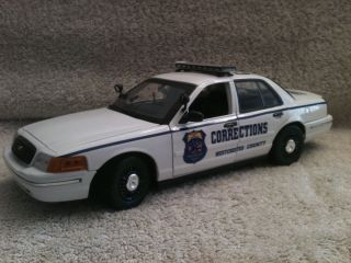 Corrections Dept UT Ford Crown Diecast Model Car 1 18 Scale