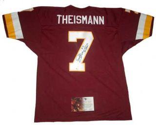 Joe Theismann Signed Auto Redskins Go Skins TB Jersey