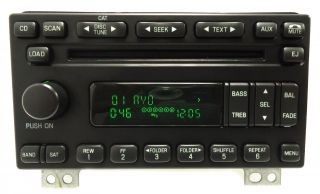 Ford Expedition Mustang Explorer 6 Disc Changer MP3 CD Player Radio