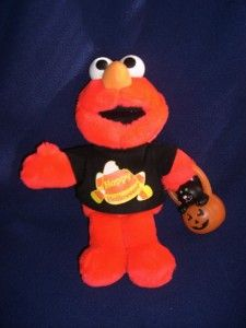 Happy Halloween ELMO Talking Plush Stuffed Animal Doll Sesame Street