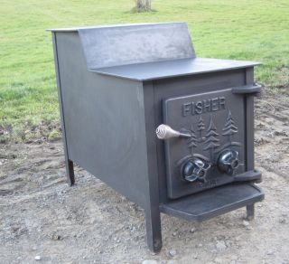 Fisher Grandpa Bear Wood Stove Ready To Heat Your Home Pictures
