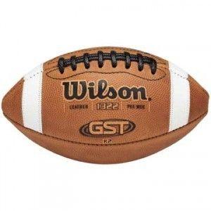 2012 Wilson GST K2 Pee Wee Game Footballs WTF1322B New